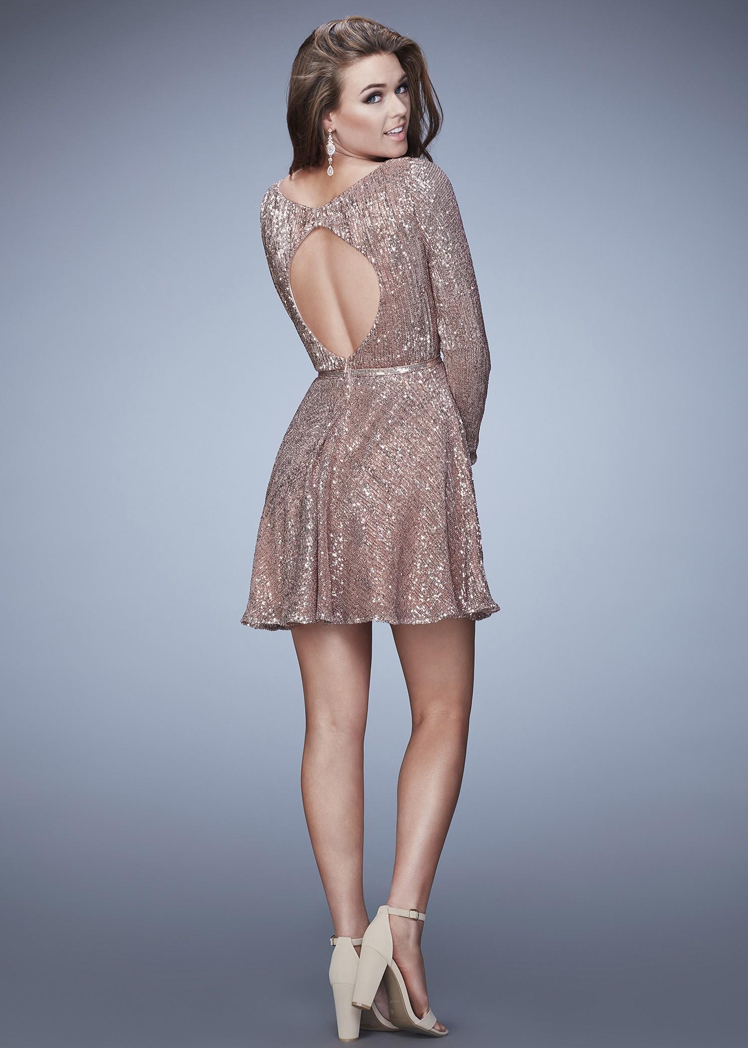 e85d24b8af1 La Femme 23321 Long Sleeve Dress