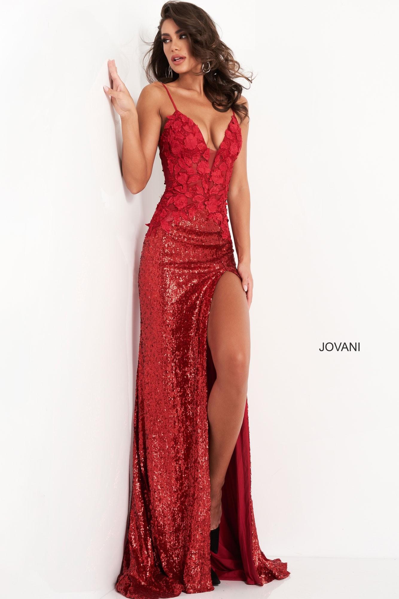Jovani 06426 Sequin Prom Dress
