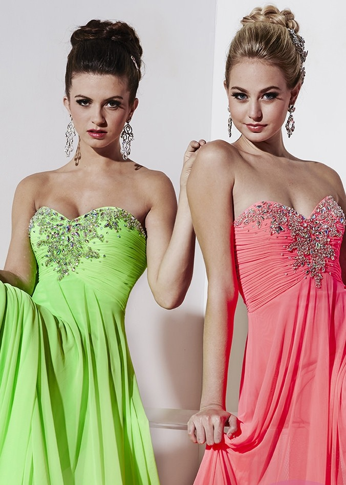 Studio 17 12491 Strapless Beaded Prom Dress
