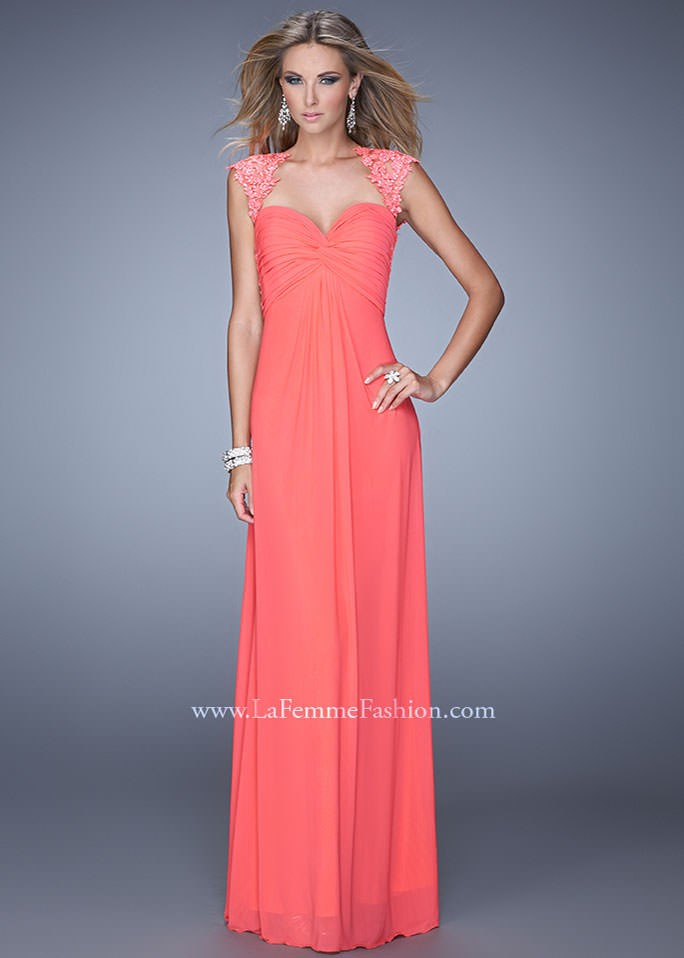 La Femme 20844 Sweetheart Evening Gown for Prom 2015
