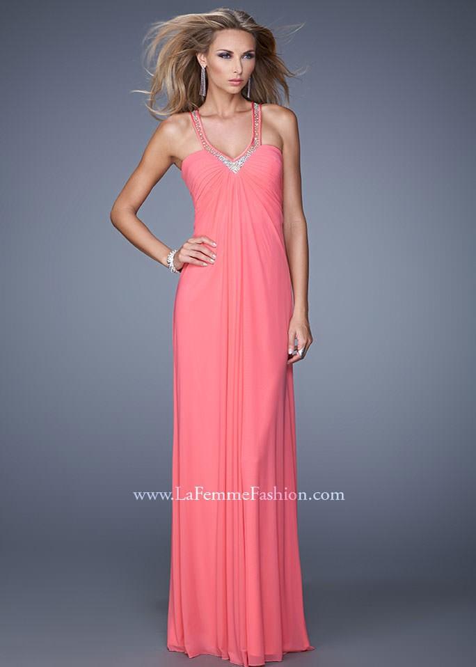 La Femme 20903 Sexy Jersey Dress