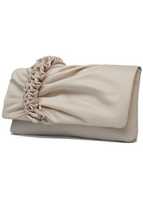 La Regale 24607 Ruffled Clutch