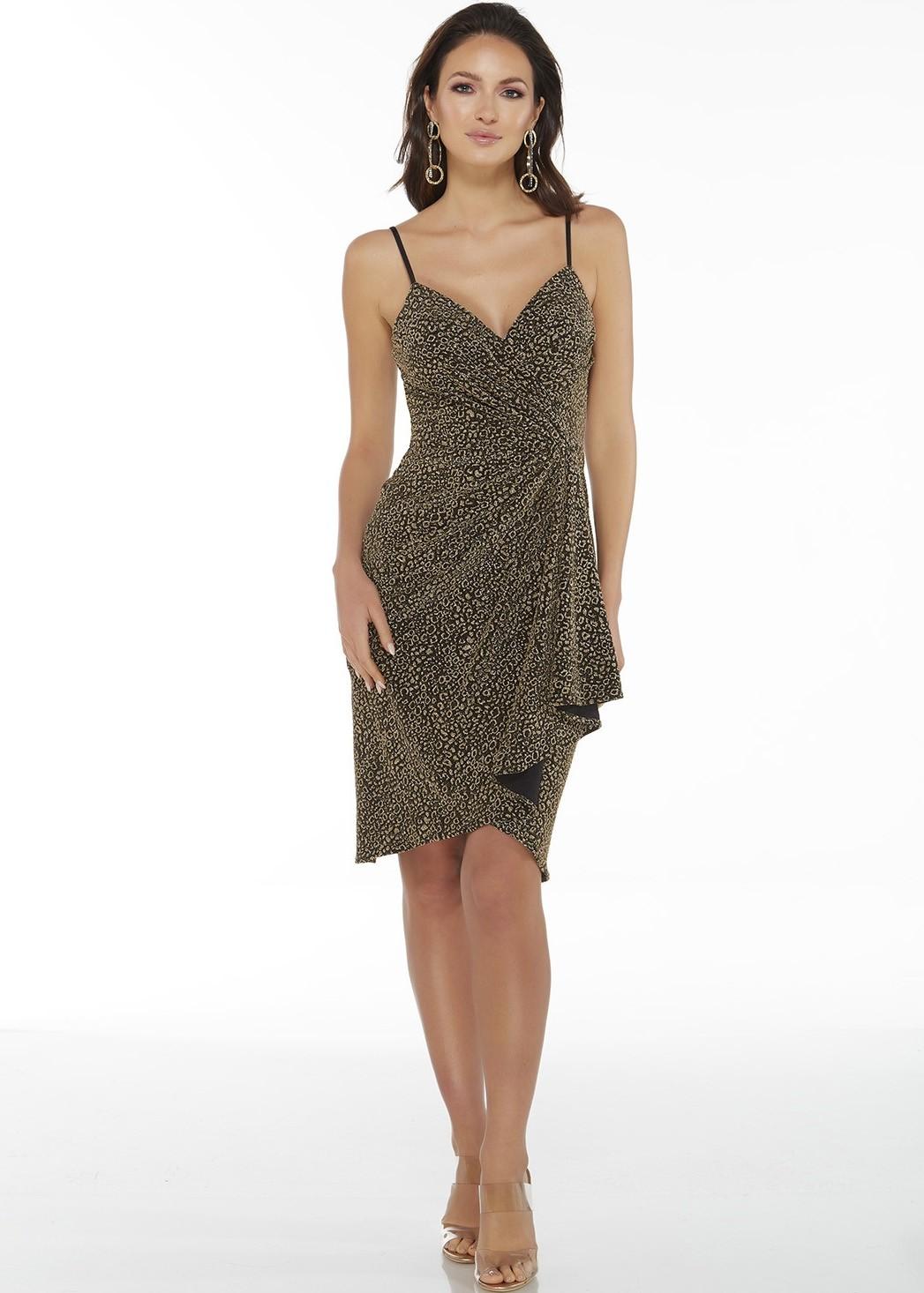 Alyce 27414 Black-Gold Evening Dress