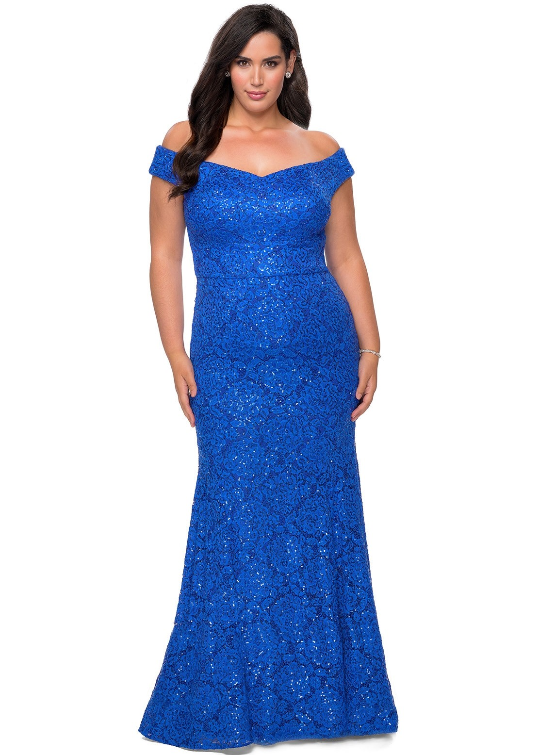 La Femme 28883 Plus Size Dress