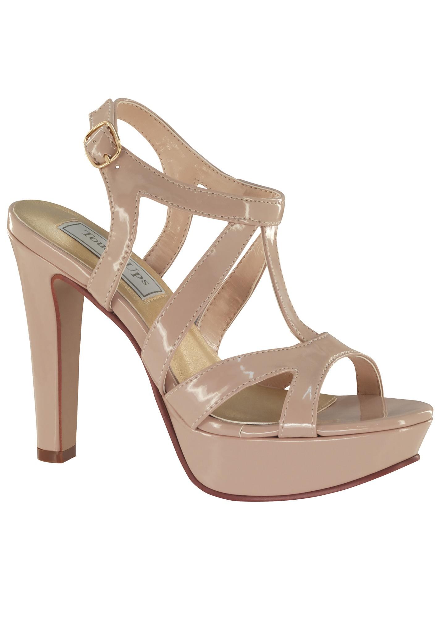 Queenie by Touch Ups Platform Sandal