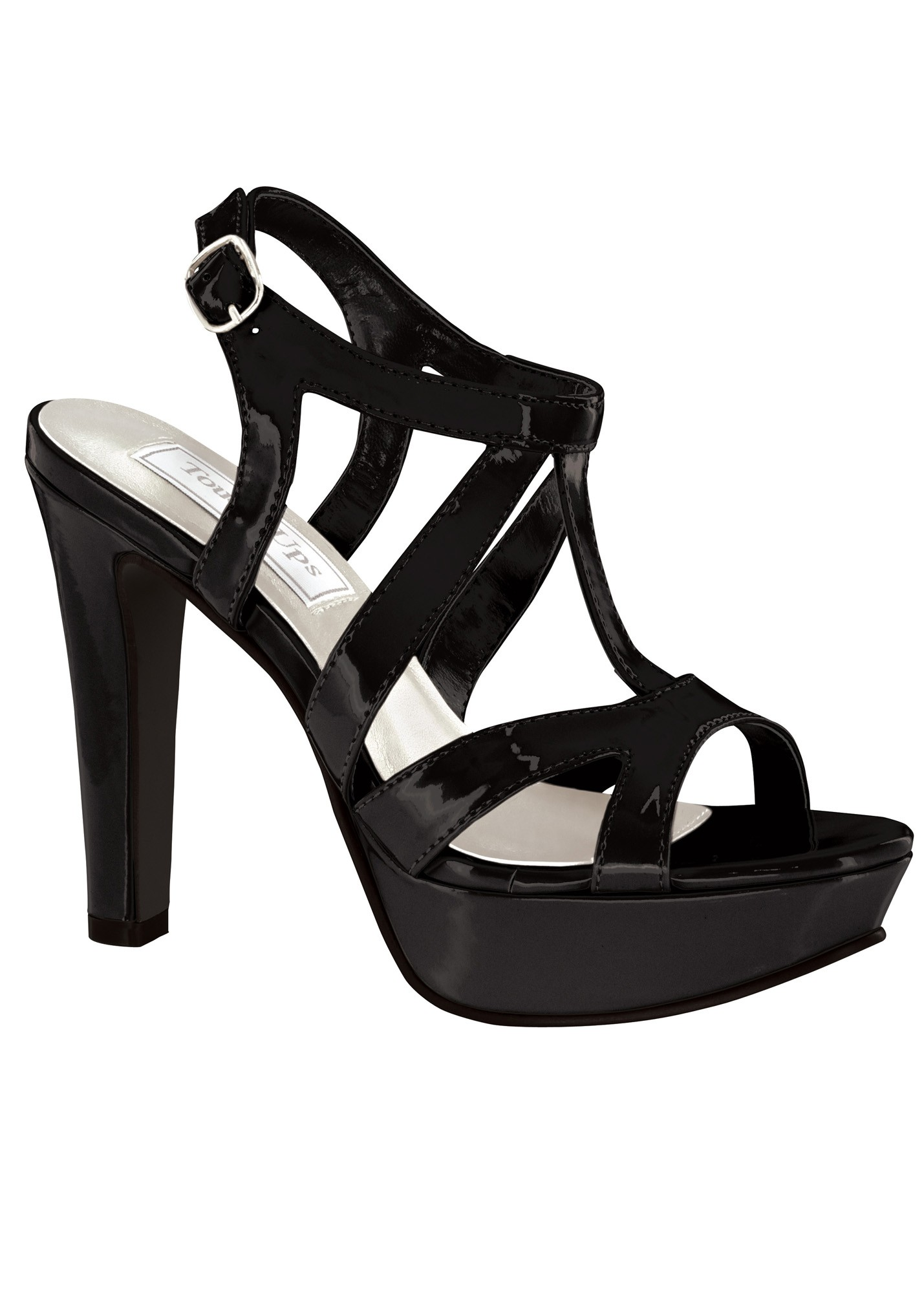 Queenie by Touch Ups Sassy Strappy Sandal