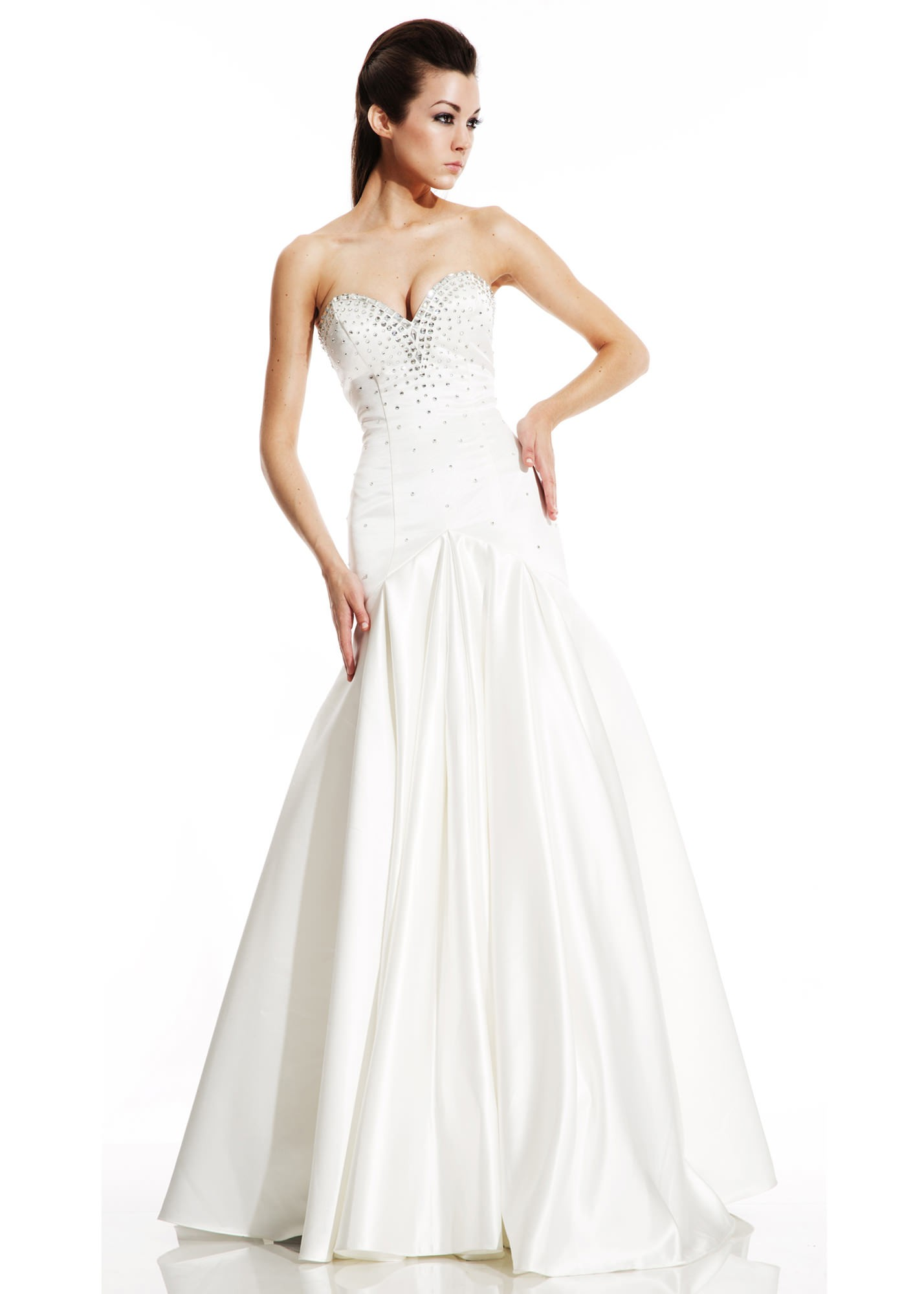 Johnathan Kayne by Joshua McKinley 486 Strapless Mermaid Gown