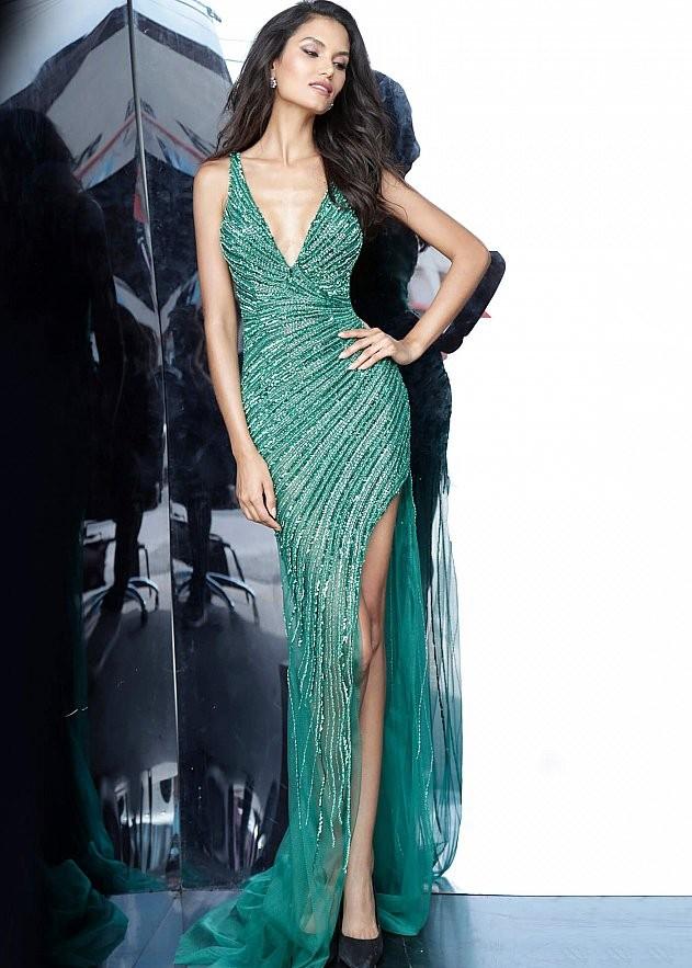 Jovani 63405 Sexy Beaded Prom Dress