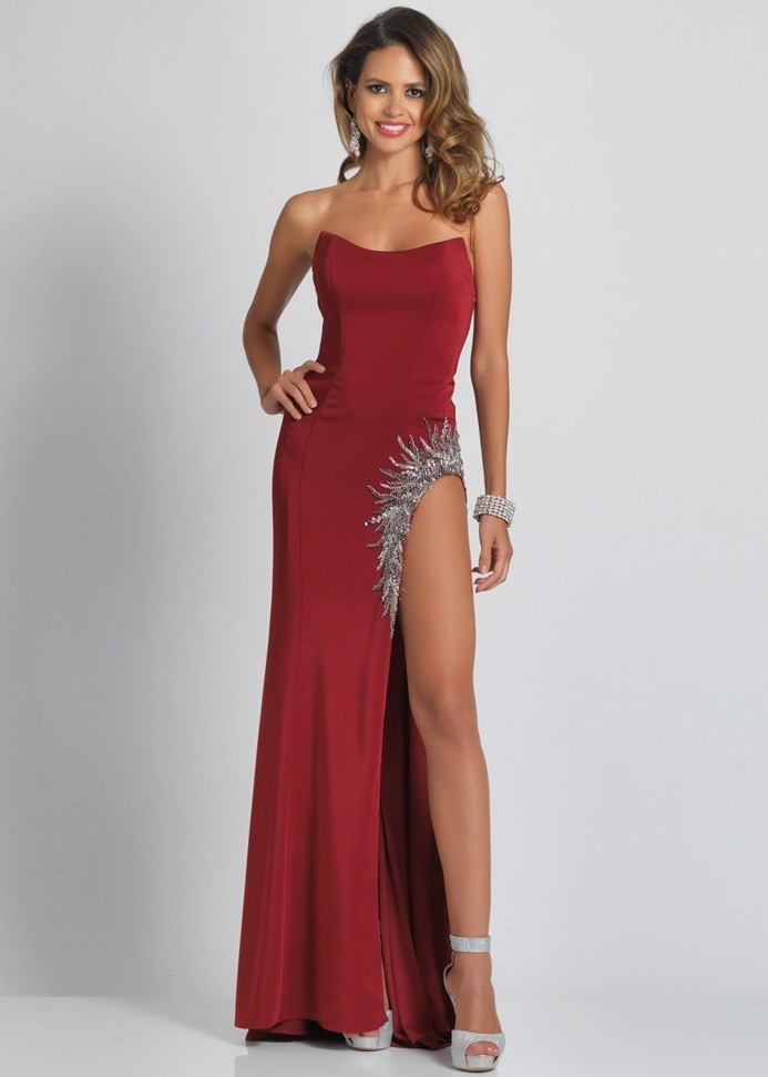 Dave and Johnny A8577 Prom Dress