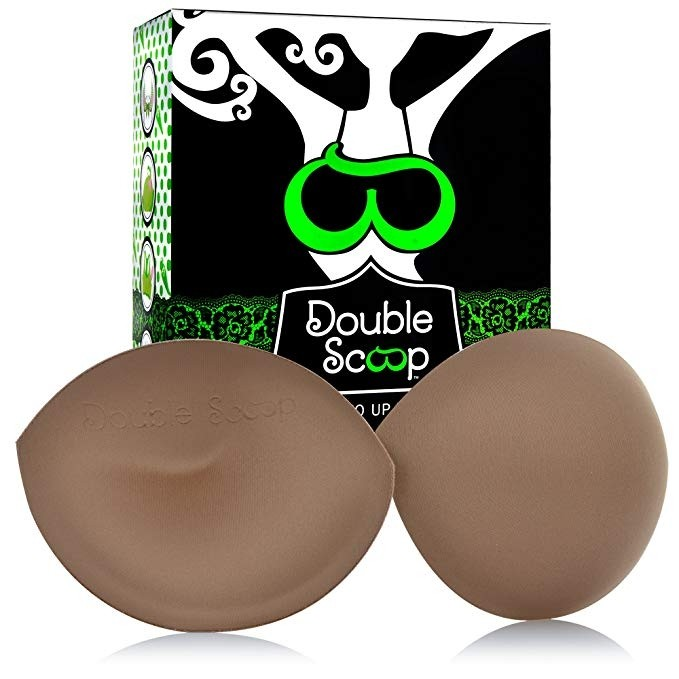 Double Scoop Original Push Up Pad Bust Enhancers