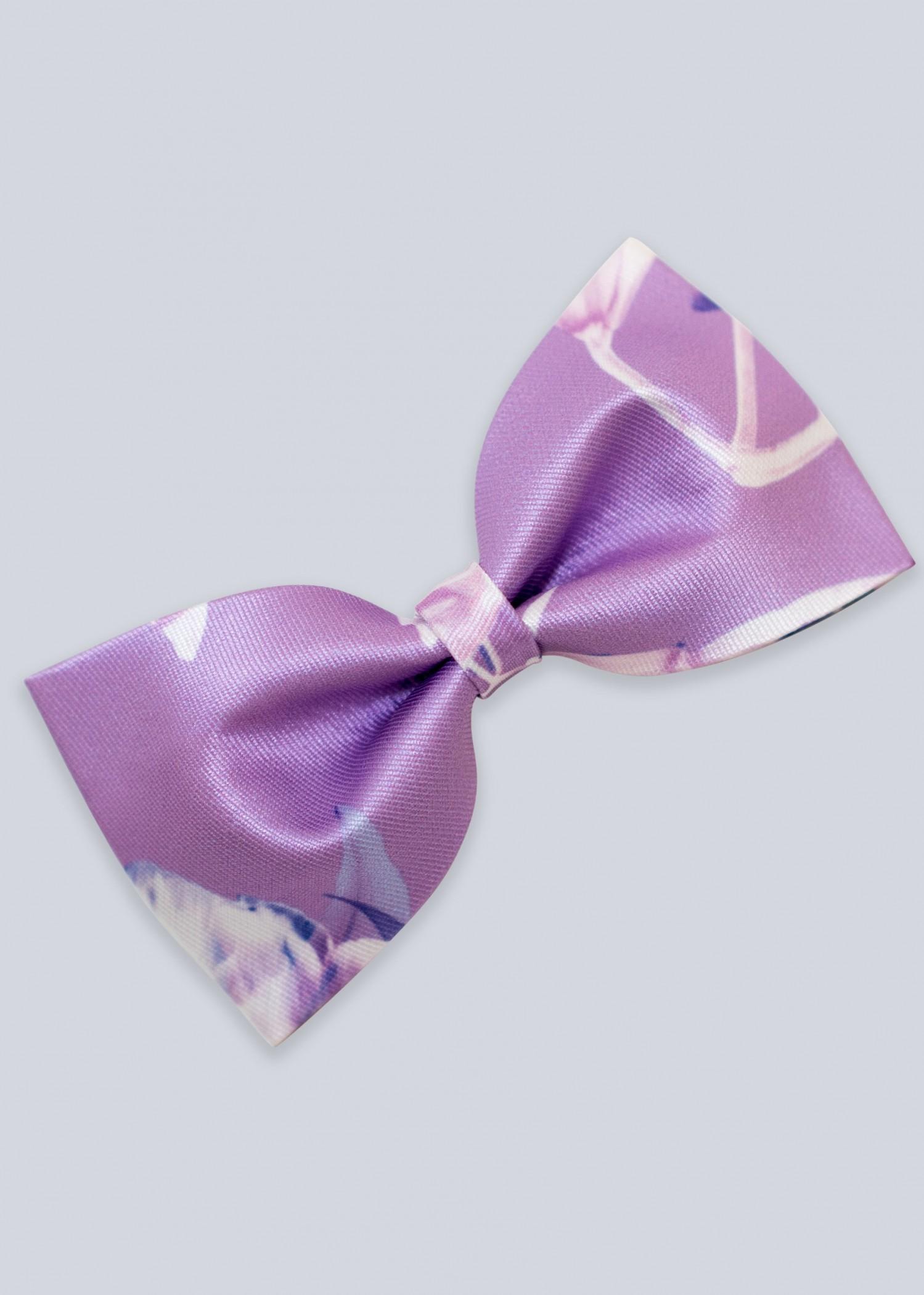 Ellie Wilde EW11803B Charming Floral Print Bow Tie