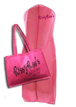 Rissy Roo's Pink Tote & Garment Bag