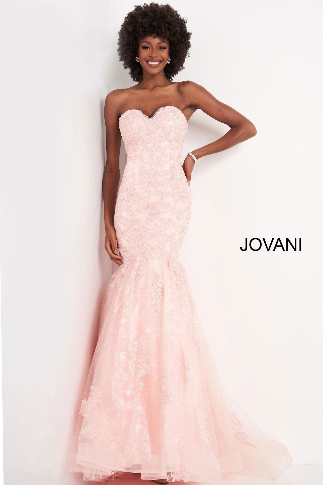 JVN by Jovani JVN00874 Mermaid Prom Dress