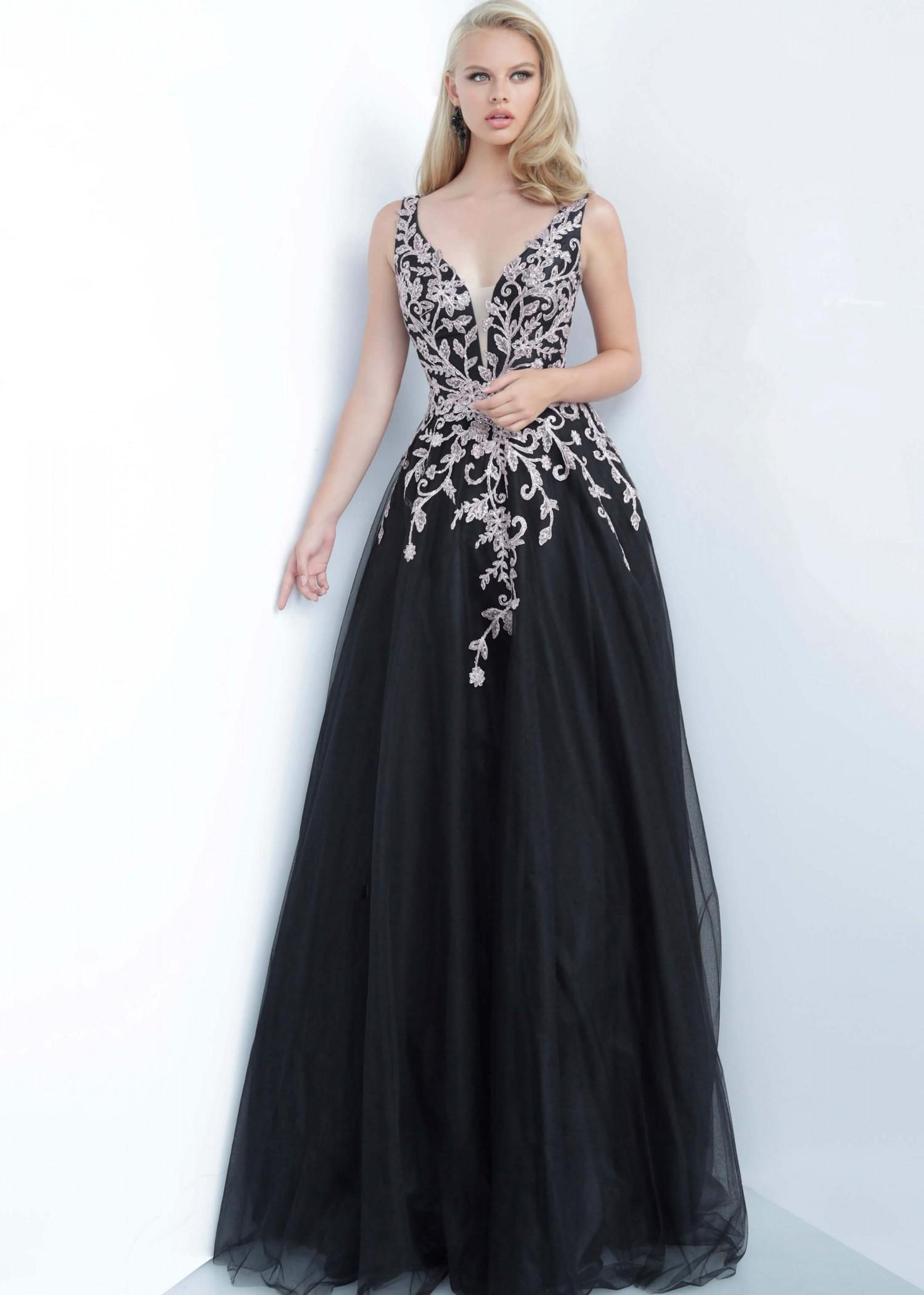 JVN by Jovani JVN2302 Black/Rose Size 22