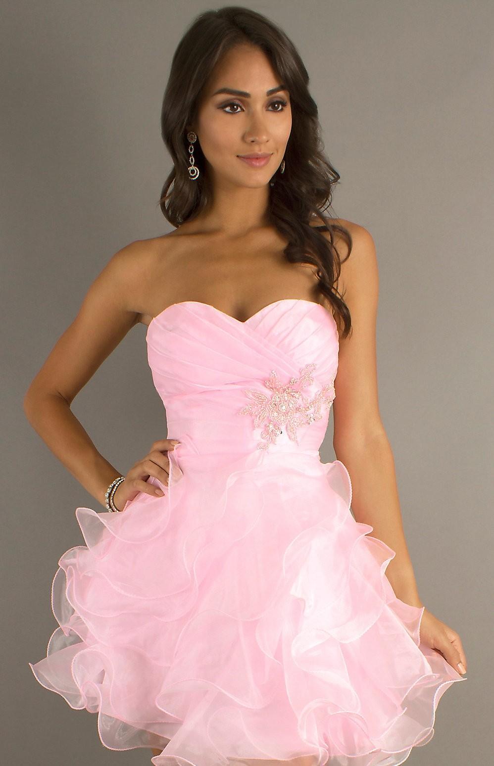Alyce 3545 Ruffle Organza Party Dress
