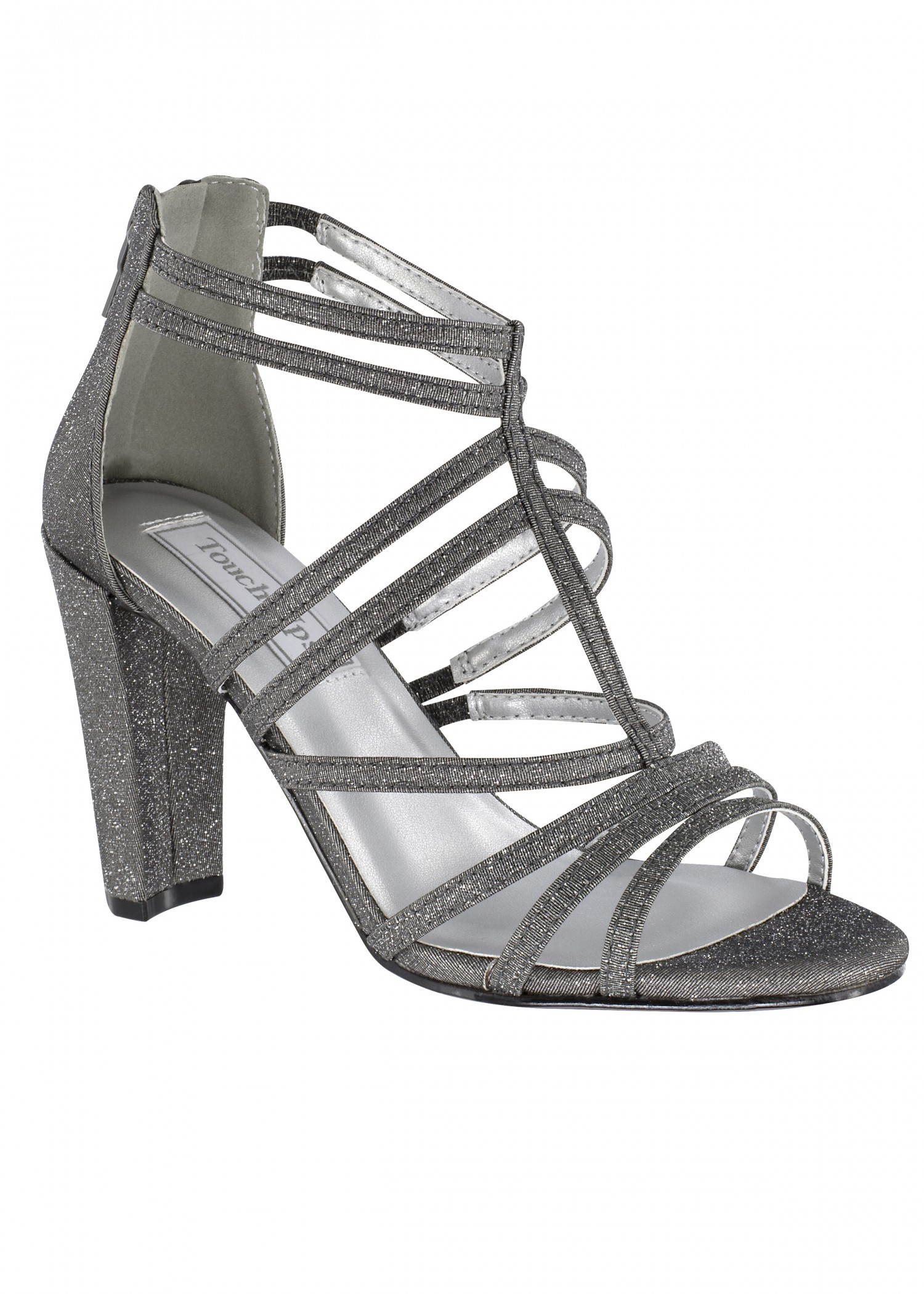 Rhyan by Touch Ups Strappy Cage Sandal