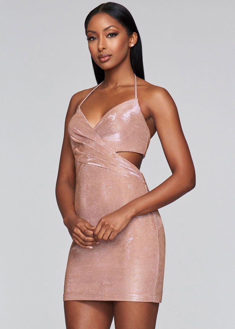 Faviana S10353 Short Stretch Jersey Dress
