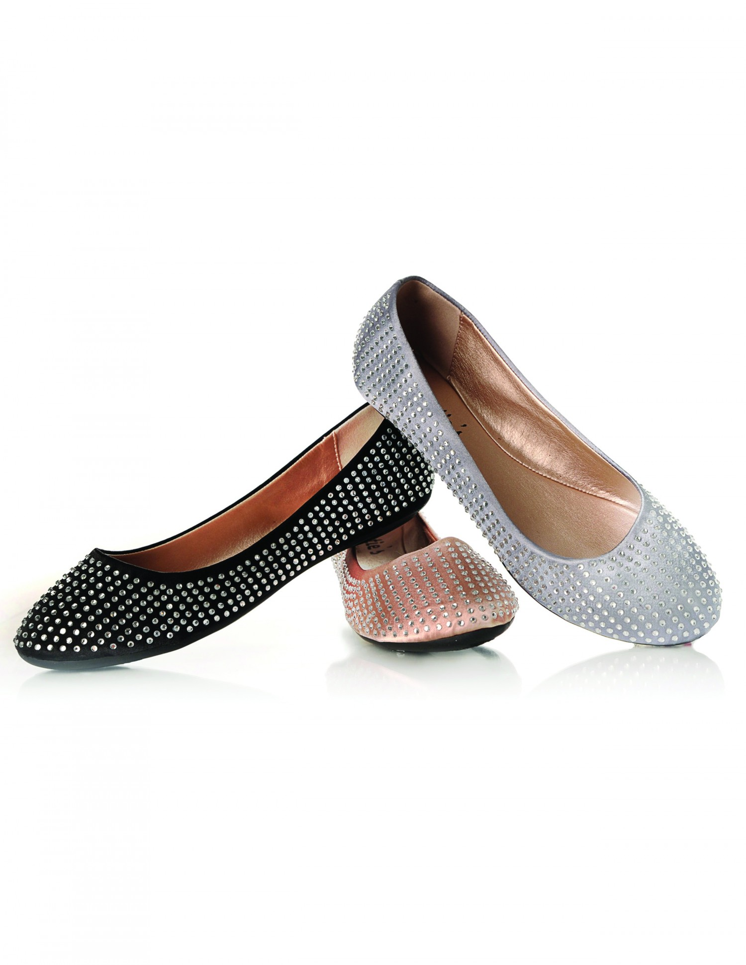 Sweetie's Sally Studded Ballet Flats