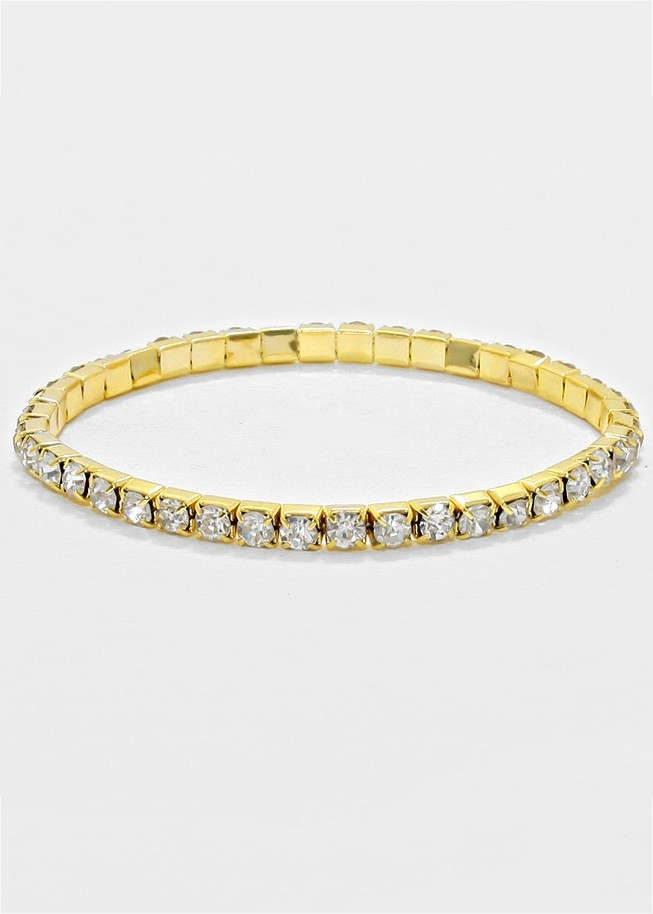 Rhinestone Stretchable Stackable Bracelet