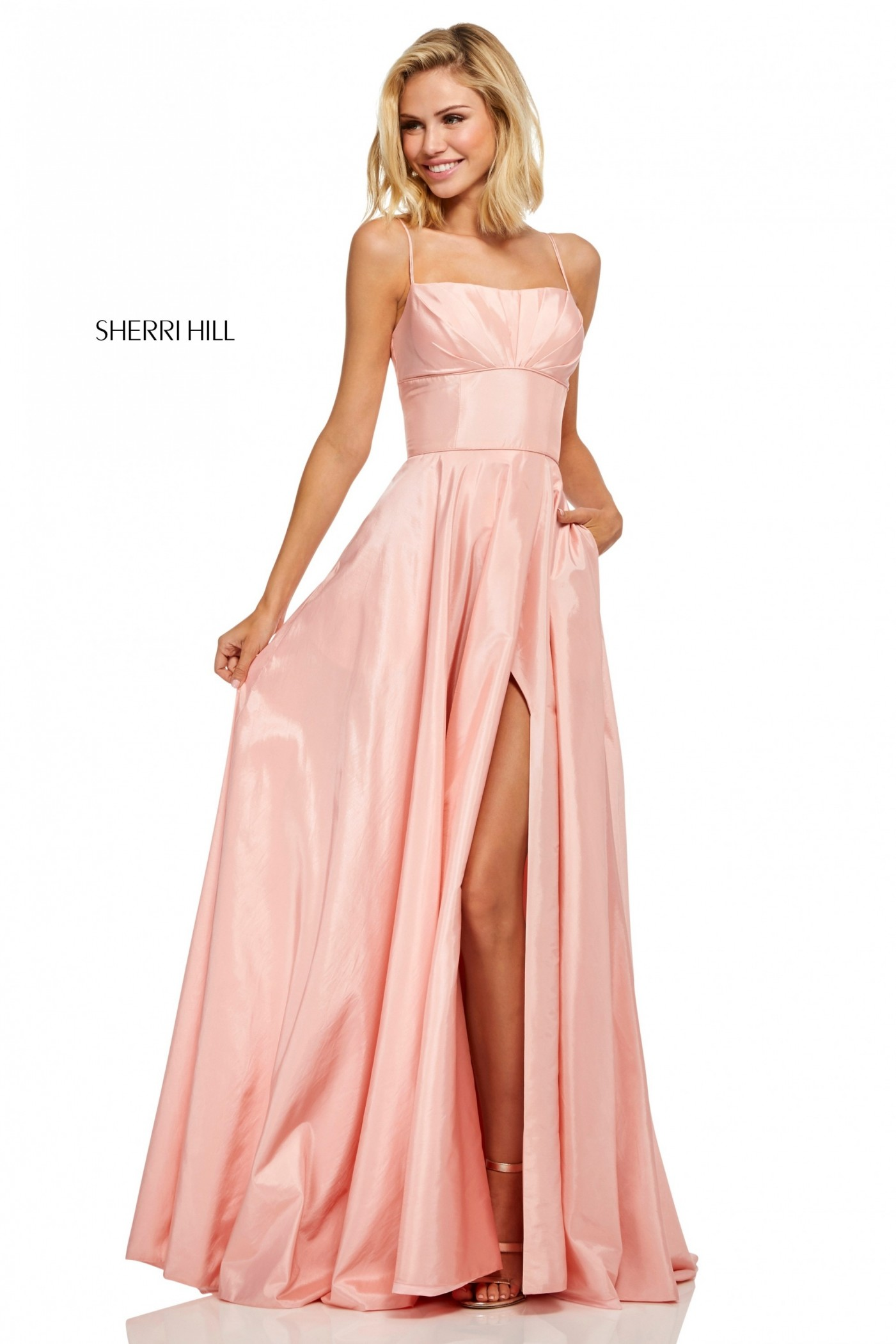 Sherri Hill 52602 A-Line Taffeta Evening Dress