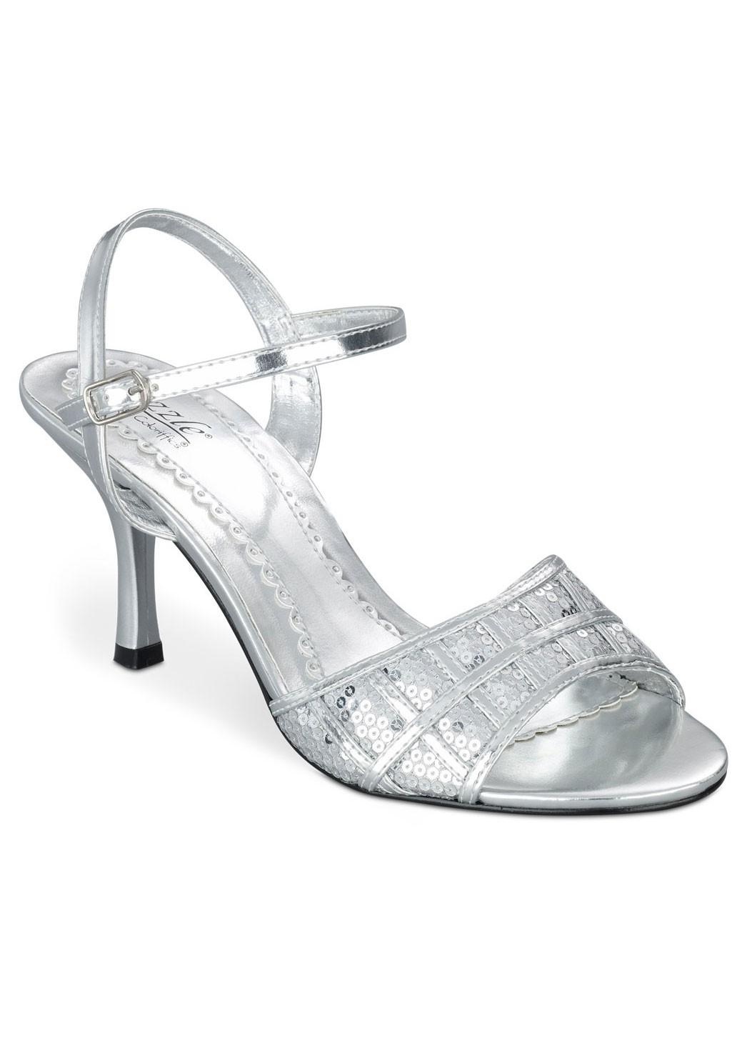 Paris by Sizzle Sequin Sandals