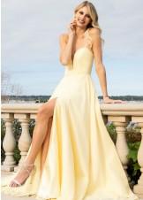 Faviana S10232 Sweetheart Neck Chiffon Dress