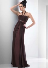 Bari Jay 104 / 2013 Chiffon Halter Dress