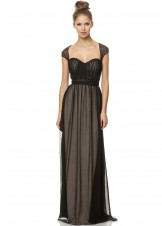 Bari Jay 1454 Illusion Evening Gown