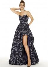 Alyce 1509 Floral Print Hi-Lo Dress