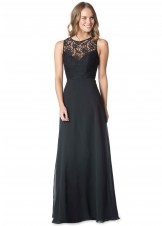 Bari Jay 1612 Long Bridesmaid Dress