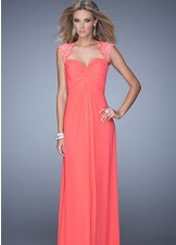 La Femme 20844 Sweetheart Prom Dress Evening Gown
