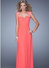 La Femme 20844 Sweetheart Prom Dress Evening Gown