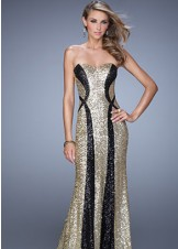La Femme 20987 Sequin Evening Gown