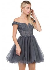 Dancing Queen 2248 Off the Shoulder Party Dress
