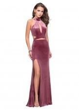 La Femme 25294 Sexy Velvet Evening Dress