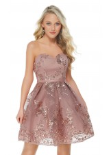 Alyce 2650 Strapless Sequined Party Dress