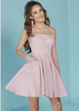 Tiffany 27259 Pink Shimmer Dress