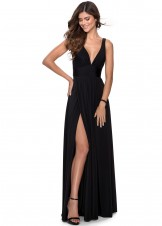 La Femme 28547 Maxi Style Evening Dress