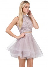 Dancing Queen 3042 Two Piece Party Dress