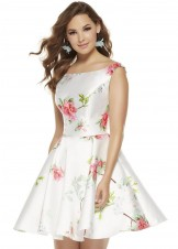 Alyce 3921 Floral Print Party Dress