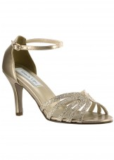 Rapture by Touch Ups Lovely Low Heel Glitter Shoe