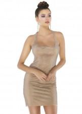 Alyce 4245 Scoop Neck Crystal Mesh Dress