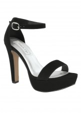 Mary by Touch Ups Black Platform Sandal