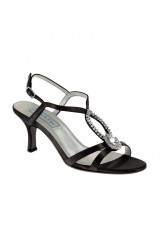 Mindy by Touch Ups Satin Jeweled Shoes