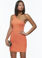 Alyce 4436 One Shoulder Glitter Jersey Dress