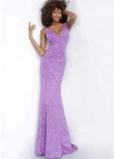 Jovani 45811 Sexy Glitter Jersey Gown