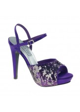 Bev by Touch Ups Satin Prom Shoes