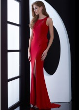 Jasz Couture 5479 Fierce Jersey Gown
