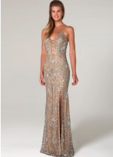 Scala 60101 Sequin Evening Gown