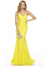 Alyce 60773 Open Back Stretch Evening Gown
